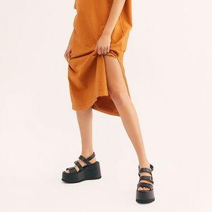 2020 Free People Chelsea Wrap Sandal NIB MSRP $168